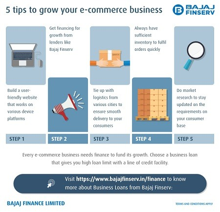 5 Tips to grow your e-commerce business