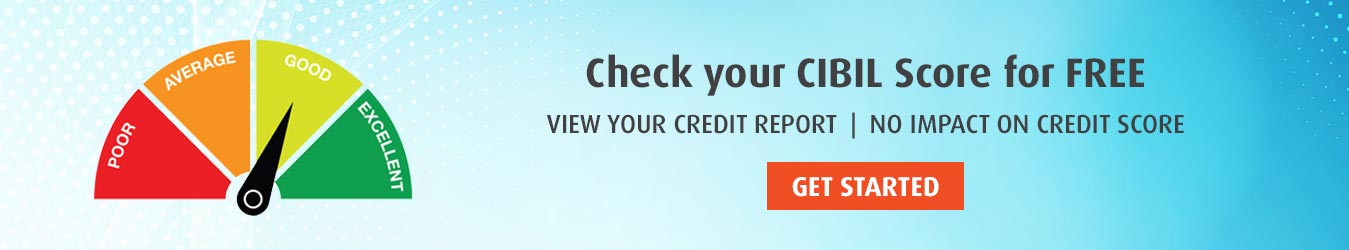 Check your cibil score for free