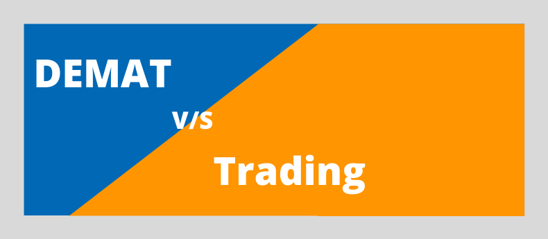 demat and trading difference