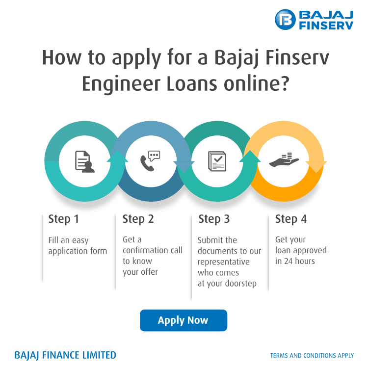 How to apply for Bajaj Finserv engineer loan online