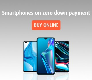 Smartphones on zero down payment