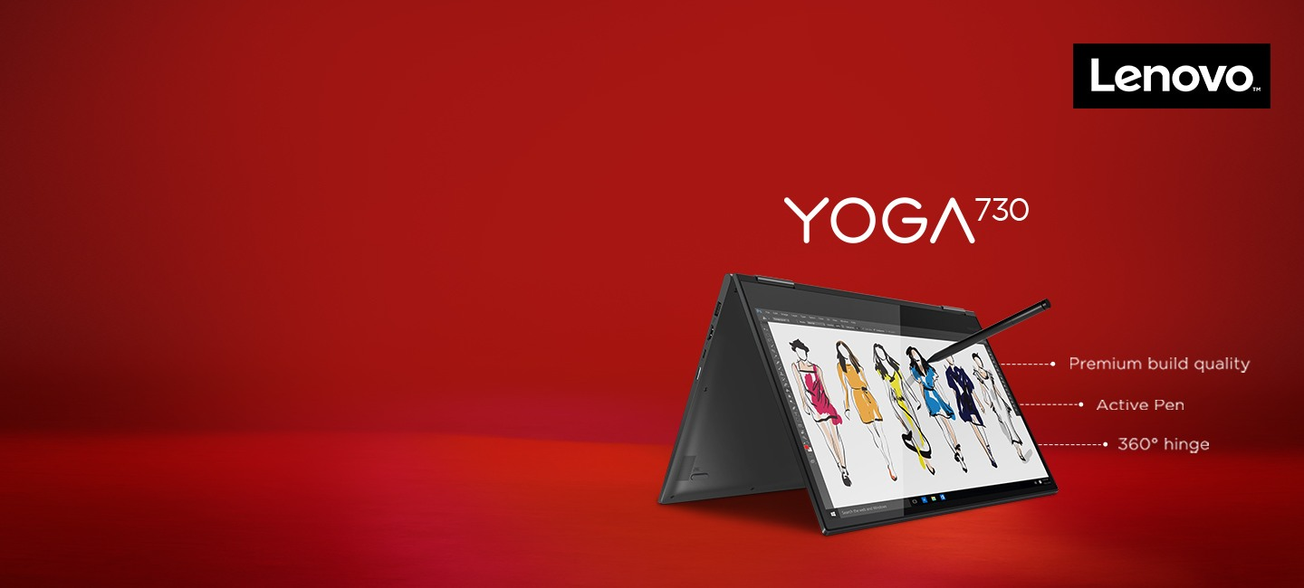 Latest Lenovo Yoga Laptops on easy EMIs