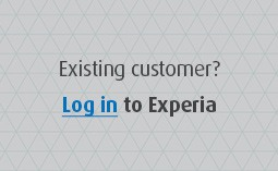 Log in to Experia