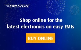 Shop for the latest electronics on easy EMIs