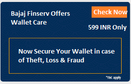 Bajaj finserv Offers wallet care